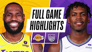 LAKERS at KINGS | NBA PRESEASON FULL GAME HIGHLIGHTS | October 14, 2021