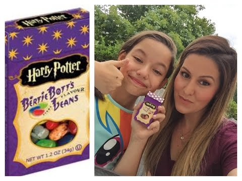 Harry Potter Jelly Bean Challenge with my Aunt