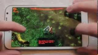 Predators Android Game played on Samsung Galaxy Note 2