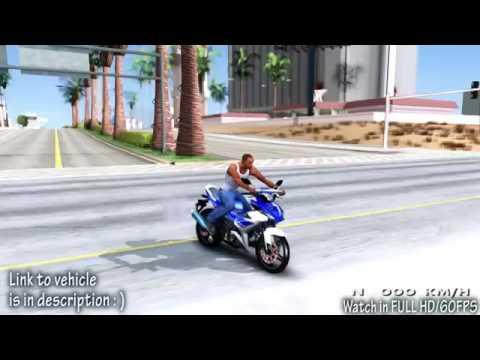 Yamaha exiter #mxking mod #gtasanandreas