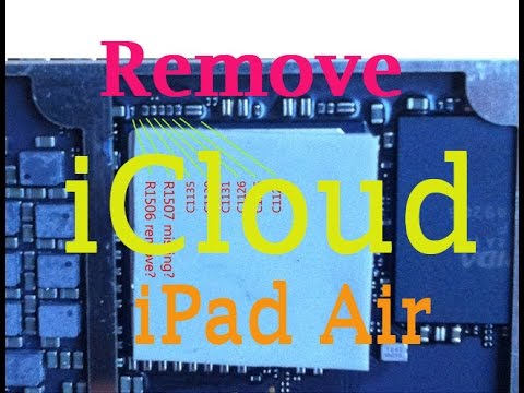 Update| Bypass iCloud iPad Air | Full Detail and Schematic