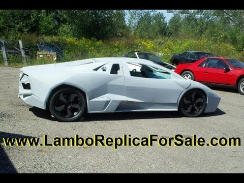 Lamborghini Reventon Coupe Replica Kit Car | 3800SC V6 Supercharged Test Drive