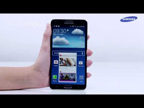 Samsung Galaxy Note 3 | How to use Pen Window in the Air Command feature
