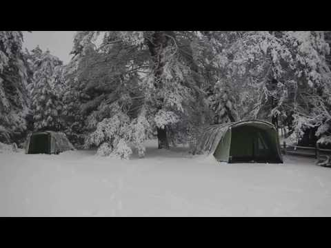 Winter Camping with Snow - the warmest tents for sale