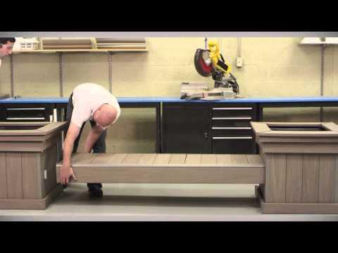 AZEK Bench and Planter Kit