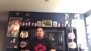 WWE Blanket unpacking