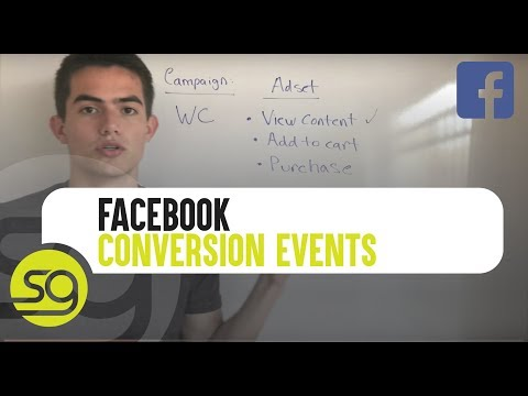 What Facebook Conversion Events To Use For Your E-Commerce Campaigns | #29