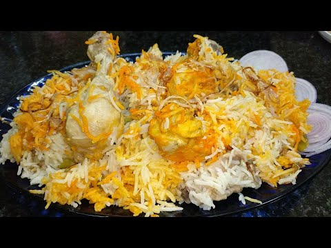 Chicken Lucknowi Pulao - U.P style | lucknowi Pulao biryani - yakhni pulao | Lucknow famous pulao
