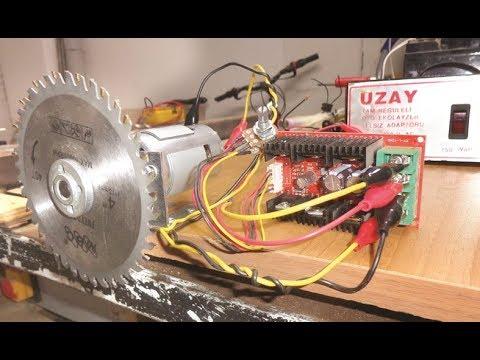 40 Amper PWM Motor Control Board - DC Motor Sürücü Devresi - TEST
