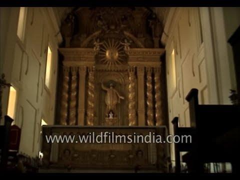 Basilica of Bom Jesus, a 400 years old church in Goa