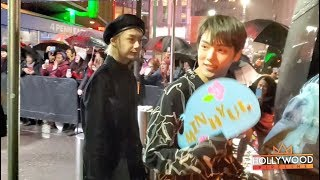 Monsta X Leaves the iHeart Radio Jingle Ball to screaming fans in NYC!