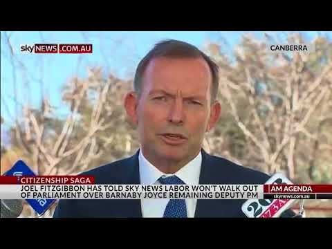 British citizenship renounced in 1993, Tony Abbott comes out