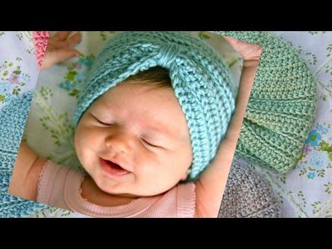 Crochet Baby Turban Pattern & Tutorial