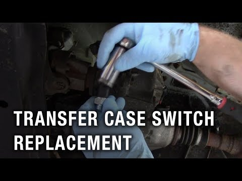Transfer Case Switch Replacement - Jeep Cherokee