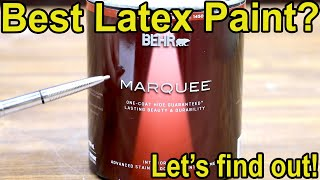 Which Latex Paint is Best? Let's find out!