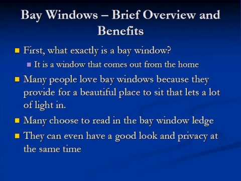Bay Window Curtains Useful Information