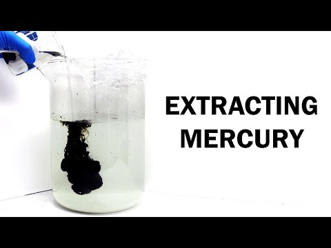 Extracting Mercury from Contaminated Water