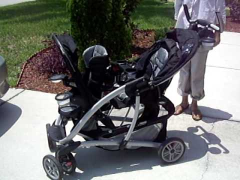 Graco Double Stroller Demonstration