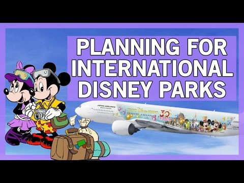 How to Plan for International Disney Parks