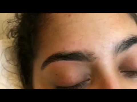 Eyebrows threading before & after | thanks to all viewers 🙏😀
