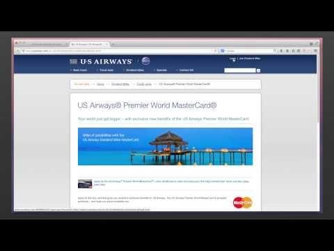 US Airways MasterCard Login and bill payment - mybillcom.com