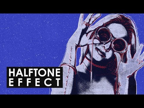 Photoshop Tutorial - How to Create a Stunning old-school HALFTONE VINTAGE EFFECT!!