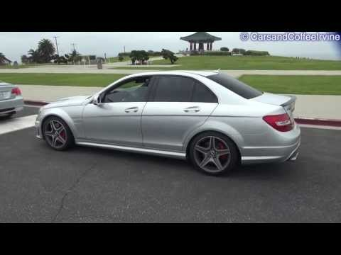 DECATTED Mercedes-Benz C63 AMG SOUNDS!