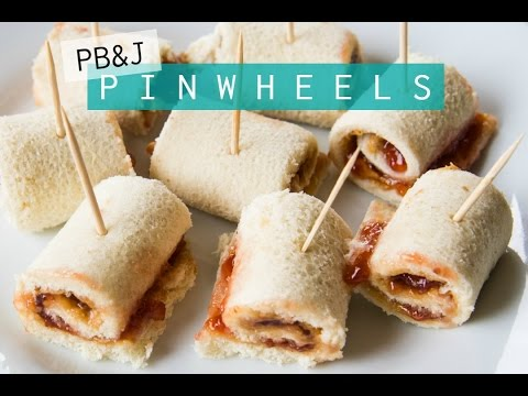 Peanut Butter and Jelly Pinwheel Sandwiches! | Stephanie from Millennial Moms