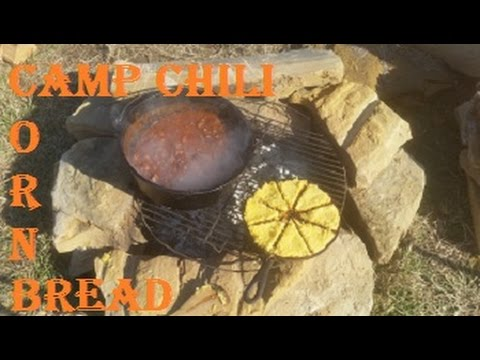 Camp Chili & Cornbread