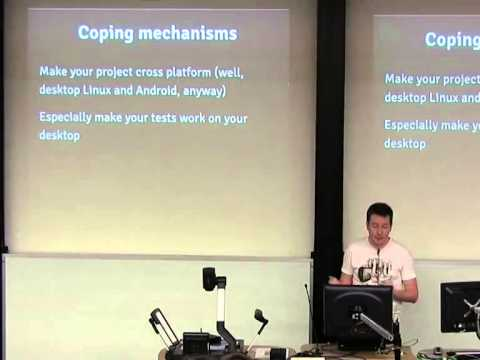Android: getting at the positronic brain [linux.conf.au 2014]