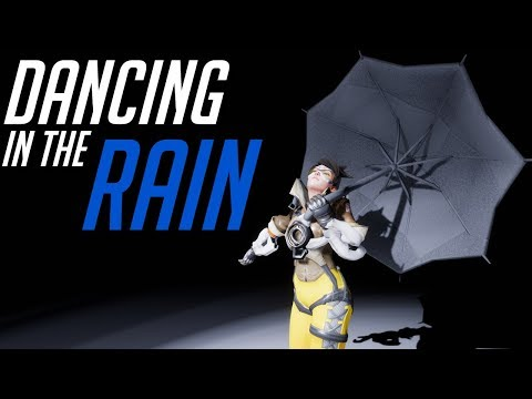 It's Tracer and she is Dancing In the Rain