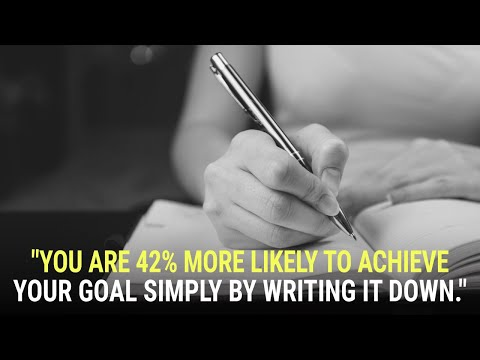 The Power of Writing Down Your Goals & Dreams | Universal Laws by Mary Morrissey