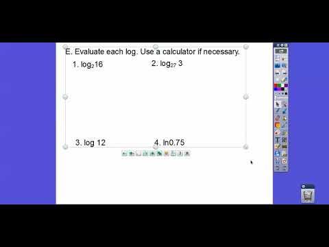 Logarithmic Functions - Module 15.1 (Part 2)