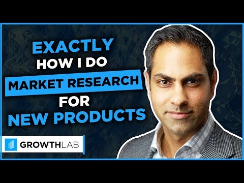 EXACTLY how I do market research for new products