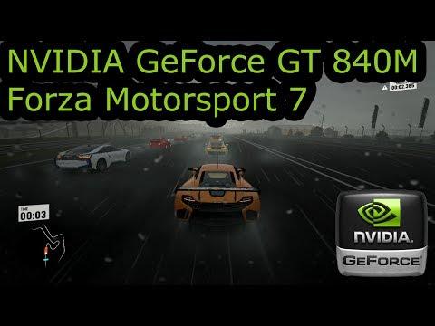 GeForce 840M - Forza Motorsport 7 - Similar to GeForce 940M