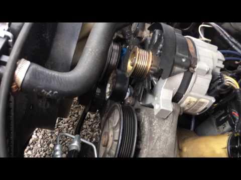 Serpentine Belt Replacement Ford Ranger 2.3L 1989-1995