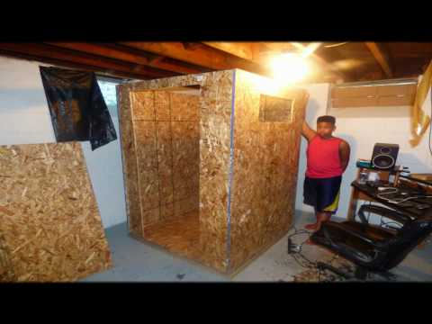 How to build a vocal recording booth EASY