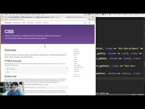 Ruby on Rails 7 Bootstrap