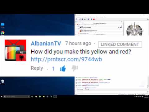 Explanation | TS3 Channel colors
