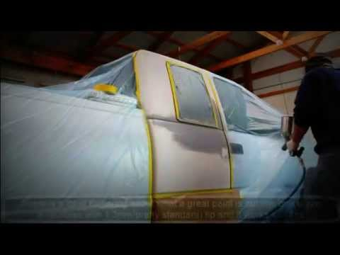 How to paint a Car at home yourself! All Car Painting steps one video!