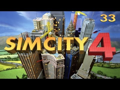 Lets Play Sim City - 33 - Finishing the Pollution (Gameplay/Commentary)