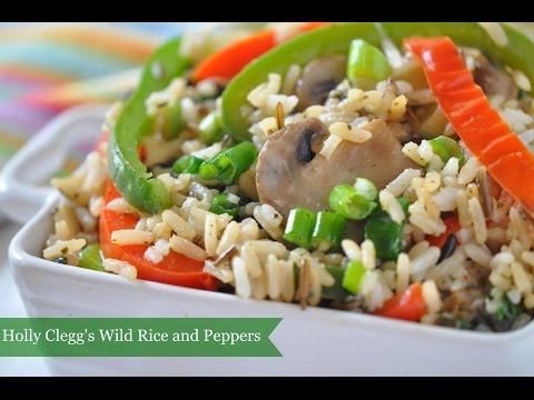 Wild Rice & Peppers Recipe Makes Stove Top Side When Out of Oven Space