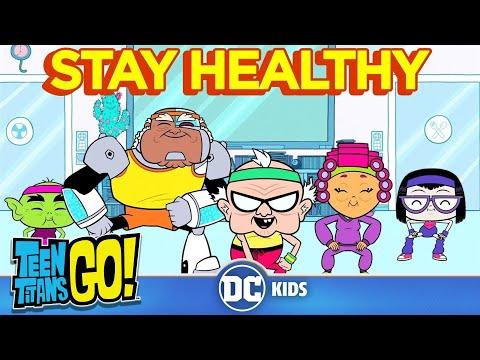 Xxx Mp4 Teen Titans Go Stay Healthy DC Kids 3gp Sex