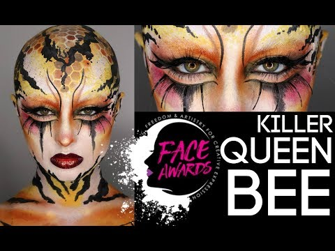 Killer Queen Bee NYX Face Awards Entry US 2018 Makeup Madhouse