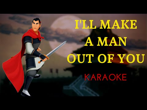 I'll Make A Man Out Of You - Mulan (Instrumental)