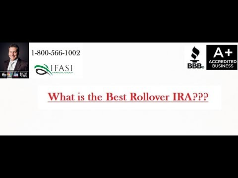 Best Rollover IRA - What is the Best Rollover IRA
