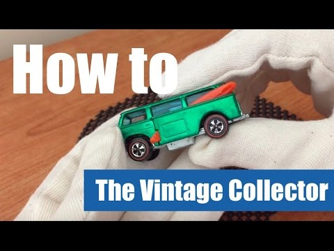 How to TAKE CARE of YOUR HOT WHEELS REDLINES