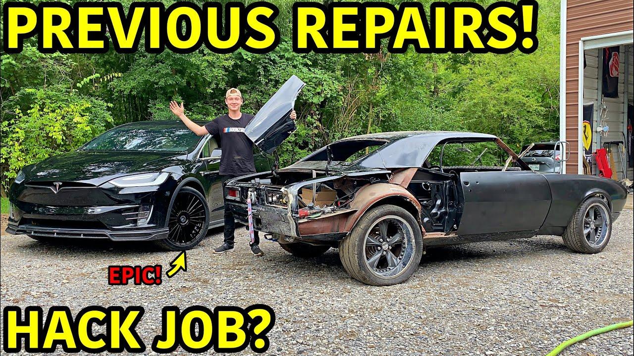 Rebuilding A Wrecked 1967 Chevrolet Camaro SS Part 8