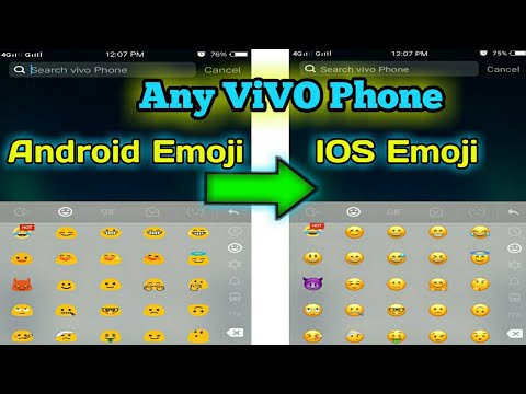 Android Emoji to Ios Emoji on any Vivo Phone