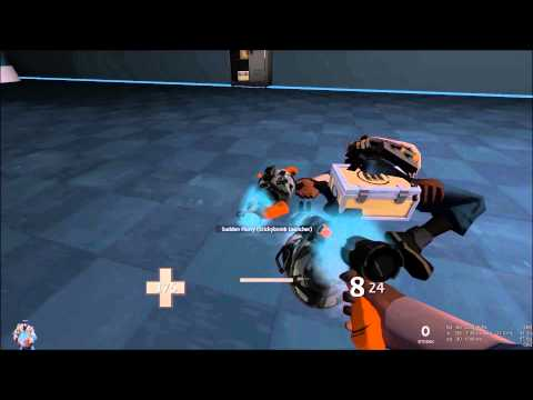 Showing off my Unsusal Stickybomb Launcher!